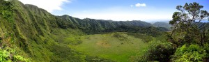 Ka'au Crater Panoramic