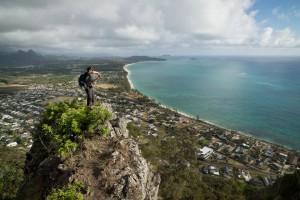 Tom Engle on Kaupo Cliffs 2