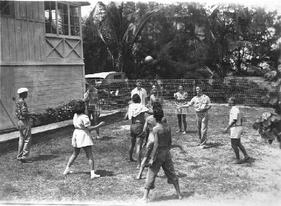 Volleyball at HTMC Clubhouse - 1932